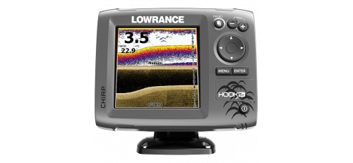 Эхолот Lowrance Hook-5x Mid/High/DownScan в Москве
